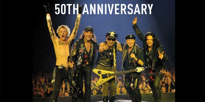 Scorpions Tour 50th Anniversary