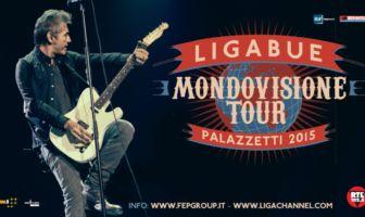 Ligabue - Mondovisione Tour - Palazzetti 2015