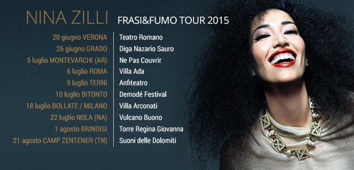 Nina Zilli - Frasi e Fumo Tour 2015