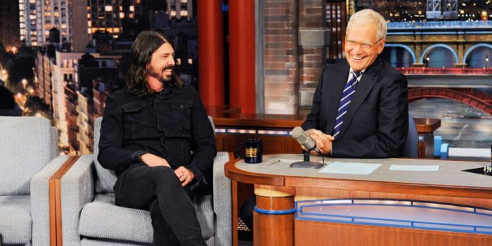 David Letterman - Dave Grohl