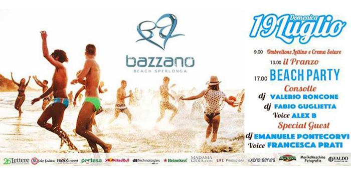 Bazzano Beach - Sperlonga - 19 Luglio 2015