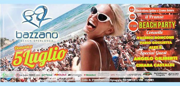 Bazzano Beach - Sperlonga -5 Luglio 2015