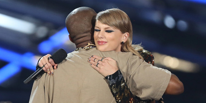 Taylor Swift - Kanye West - MTV VMA 2015
