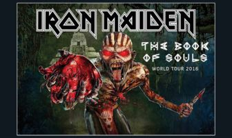 Iron Maiden - The Book Of Souls - World Tour