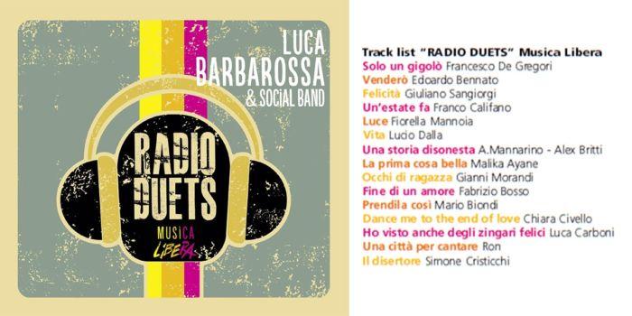 Luca Barbarossa - Radio Duets - Musica Libera