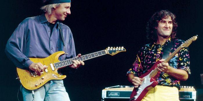 Dire Straits - Mark Knopfler e Phil Palmer