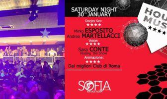 Sofia Club - 30 Gennaio 2016