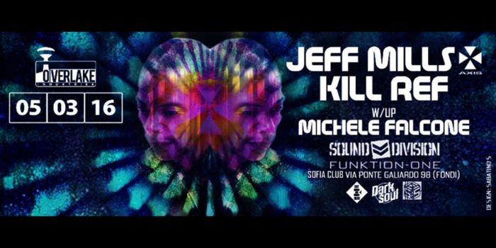 Jeff Mills - Sofia Club 5 Marzo 2016