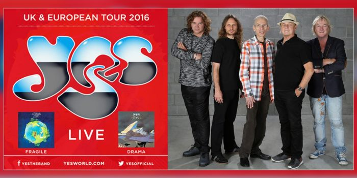 Yes - Tour 2016