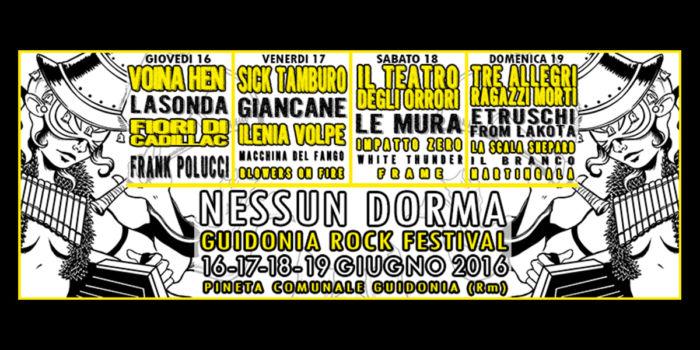 Nessun Dorma Rock Festival 2016