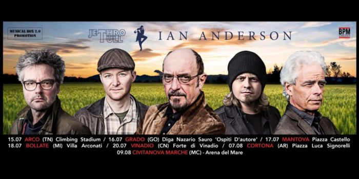 Ian Anderson - Jethro Tull 2016
