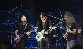 G3 - Joe Satriani - Steve Vai - The Aristocrats - Roma 2016