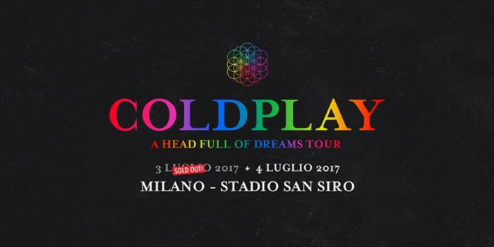 Coldplay - Milano - AHFOD TOUR 2017