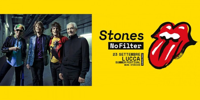 Rolling Stones - NoFilter Tour - Lucca Summer Festival 2017