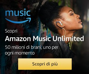 Iscriviti gratuitamente ad Amazon Music Unlimited
