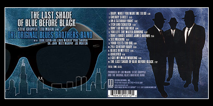 """The Last Shade Of Blue Before Black"", l'ultima fatica dell'Original Blues Brothers Band"