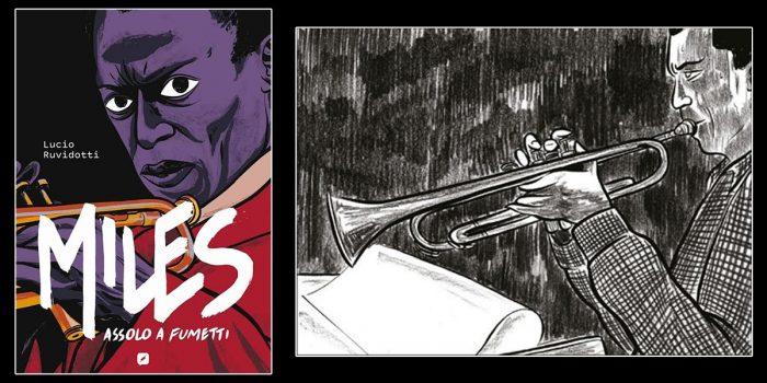 Miles Davis - Assolo a Fumetti - Lucio Ruvidotti