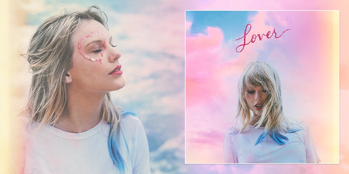 """Lover"", Taylor Swift torna con un album romantico dai colori pastello"