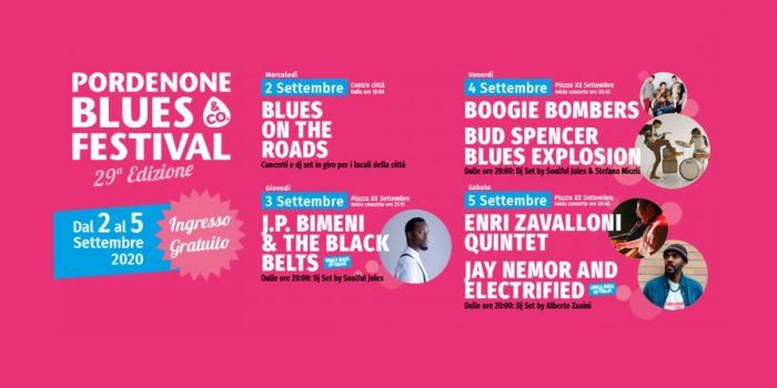 Pordenone Blues Festival, il programma della 29esima edizione